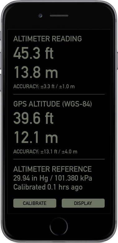 Pro Altimeter - Barometric Altimeter App for iPhone/iPad