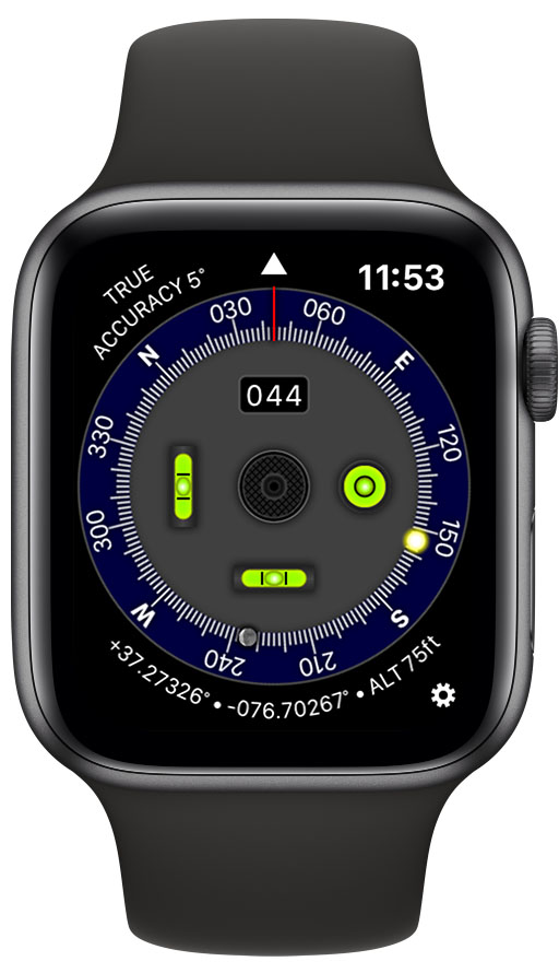 Pro Compass available for Apple Watch Image